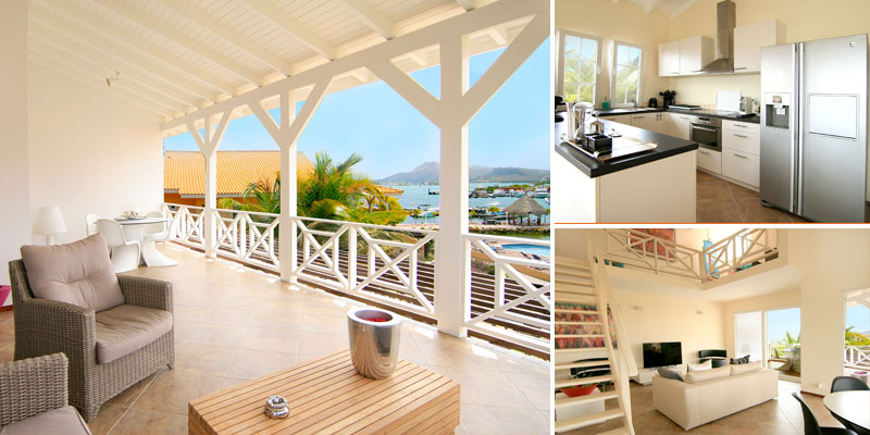 Penthouse Te Koop Op MasBango Beach Resort in Jan Thiel Curacao