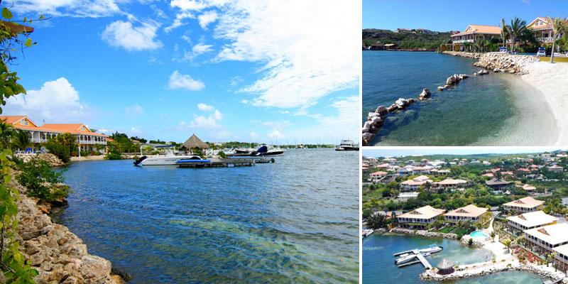 Stijlvolle & ruime, direkt aan het water gelegen, begane grond appartementen te huur op MasBango Beach Resort in Jan Thiel, Curacao. Hier kunt u zorgenloos genieten van het heerlijke leven op ons prachtige eiland.