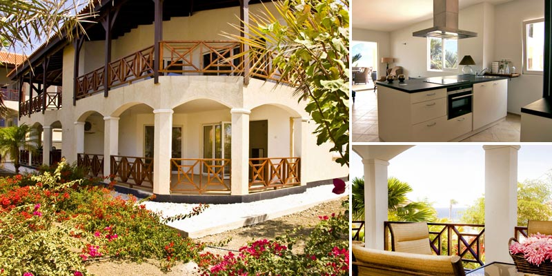 Luxurious and spacious ground floor apartments for sale in Residence Le Bleu Curacao.