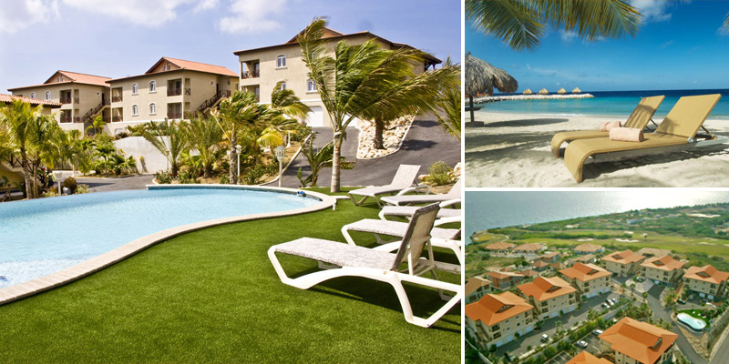 Luxurious and spacious penthouse for sale in Residence Le Bleu Curacao.