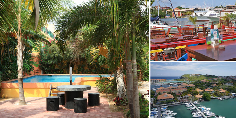 Stylish & spacious apartments in Terrasse A La Mer, one of the most intimate and safe resorts in Curacao