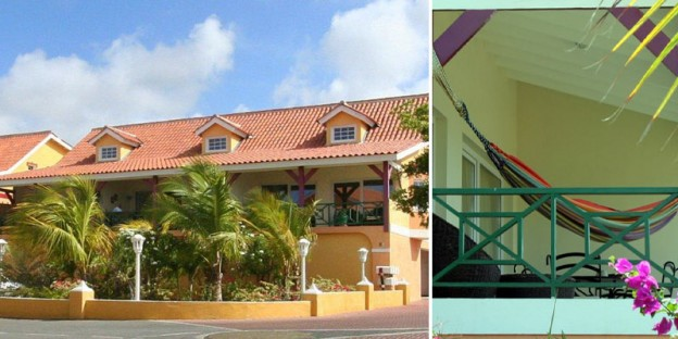 Stylish and spacious split-level apartments for sale in Terrasse A La Mer, Curacao.